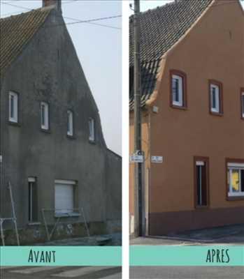 Photo Ravalement de façades n°143 dans le département 44 par entreprise Menard