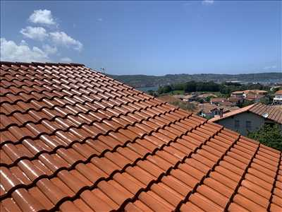 Exemple Nettoyage de toiture n°229 zone Pyrénées Atlantiques par Vincent