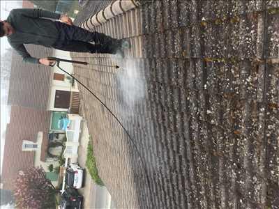 Exemple Nettoyage de toiture n°365 zone Seine et Marne par Lesag
