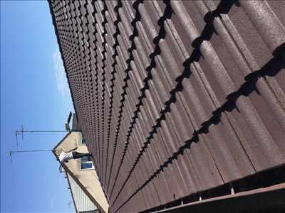 Photo Nettoyage de toiture n°366 à Mantes-la-Jolie par Lesag