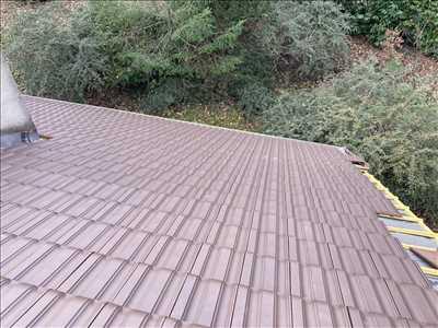 Photo Nettoyage de toiture n°368 zone Seine et Marne par Lesag