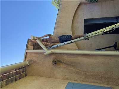Exemple Nettoyage de toiture n°385 zone Alpes-Maritimes par Sam