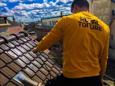 Photo Nettoyage de toiture n°39 dans le département 92 par Royal toiture
