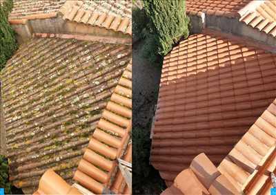 Exemple Nettoyage de toiture n°393 zone Hérault par Frederic