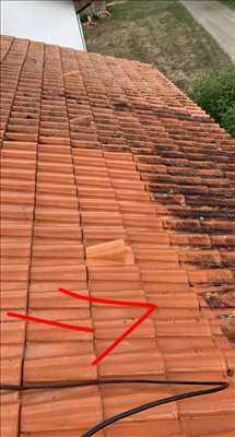 Photo Nettoyage de toiture n°99 dans le département 9 par Les Toitures D'ariège